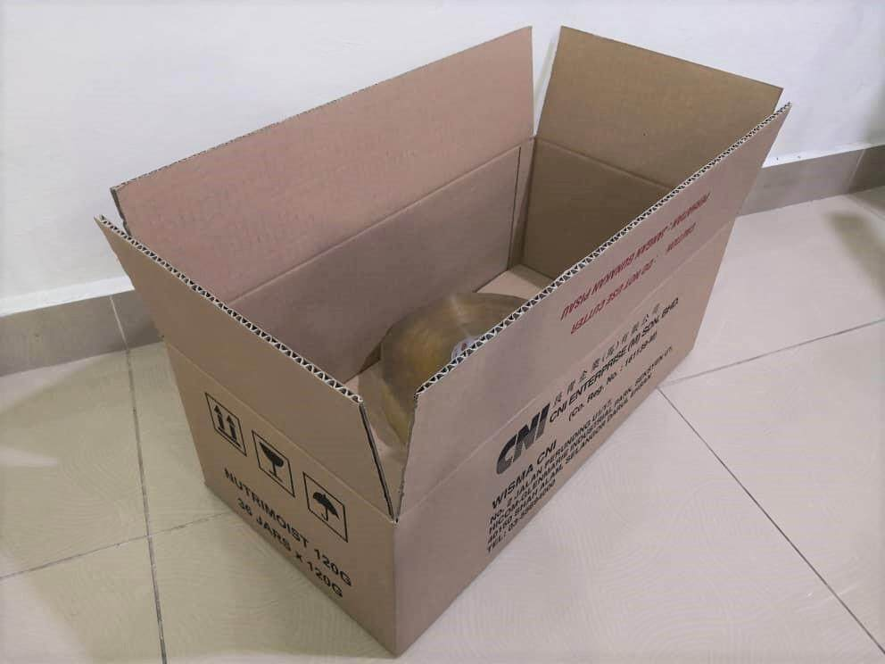 10pcs Printed Carton Boxes (L550 X W280 X H202mm)