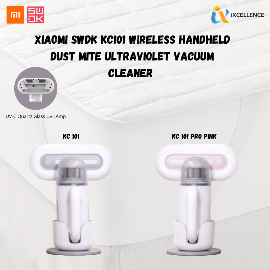 [IX] Xiaomi Mi Home SWDK KC101 Vacuum Cleaner Wireless Handheld Dust Mite Controller