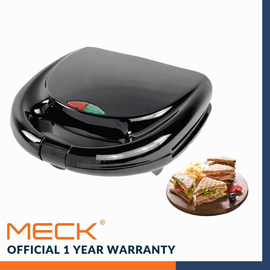 **READY STOCK** MECK Non Stick Electric Sandwich Maker MSW-S216 MSW-S216