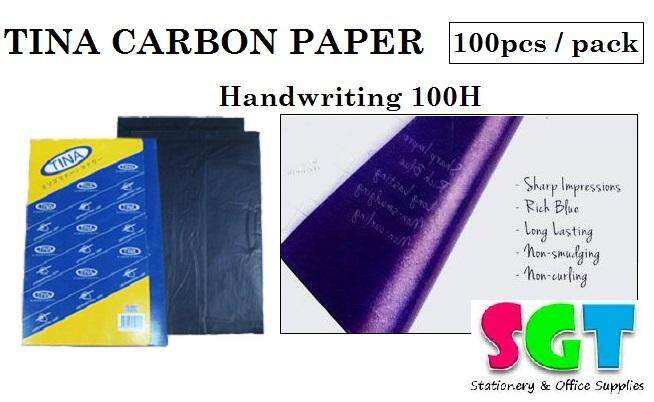 TINA Carbon Paper 100pcs / pack ( Harnwriting 100H )