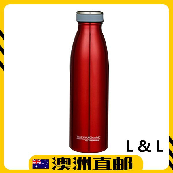 [Pre Order] Thermos THERMOcafé Vacuum Insulated Bottle 500mL - Red (Import from Australia)