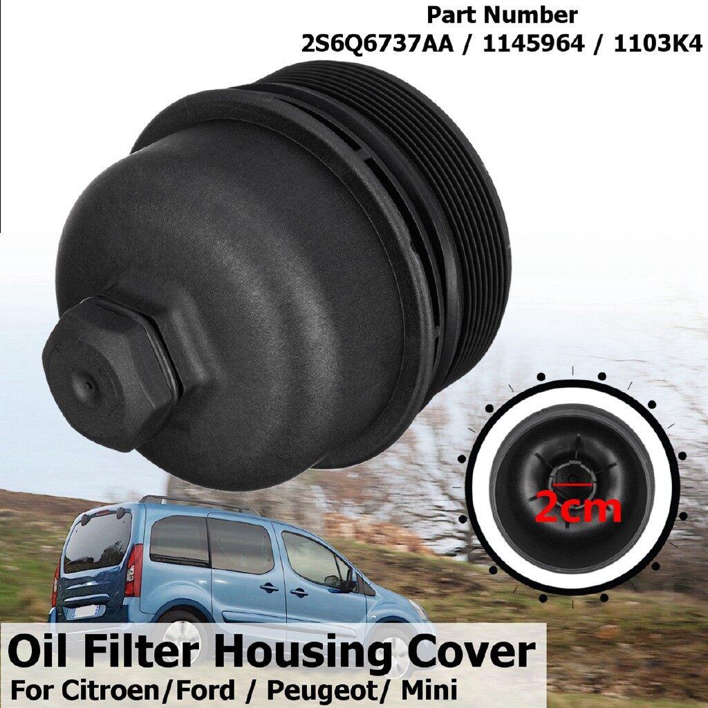 Automotive Tools & Equipment - Oil Filter Housing Cover Cap For Peugeot Citroen Ford C-Max Focus Fusion Fiesta - Car Replacement Parts