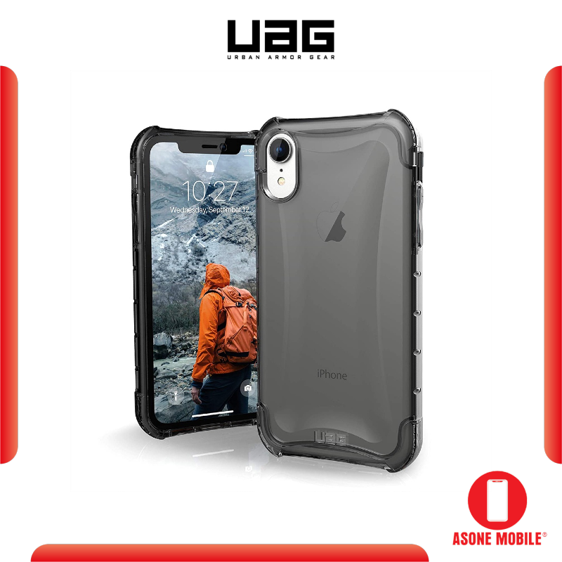 Original UAG iPhone XR / XS Max Plyo Feather-Light Rugged Military Drop Tested iPhone Case Cover
