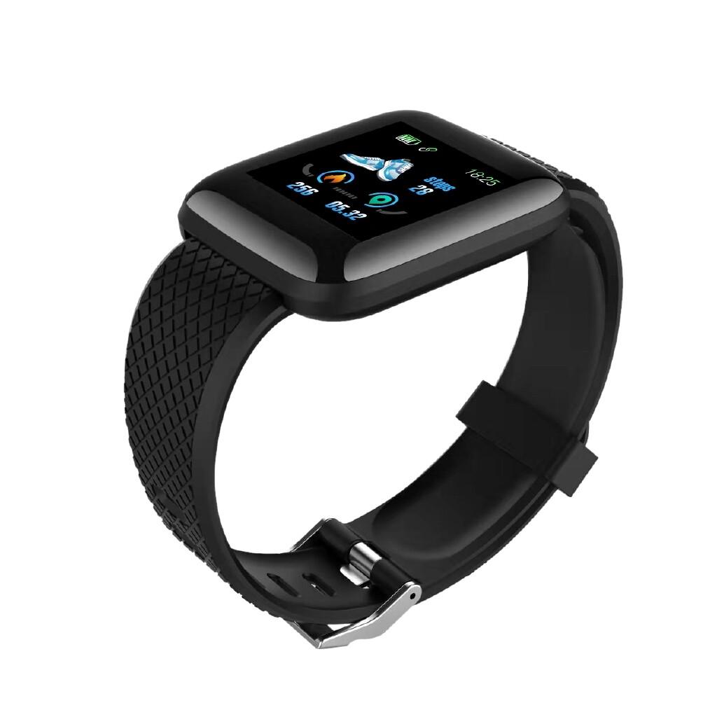 Smart Watch - 116N USB Charging Heart Rate Multi-sport Modes Smart Watch - RED / PURPLE / GREEN / BLUE / BLACK