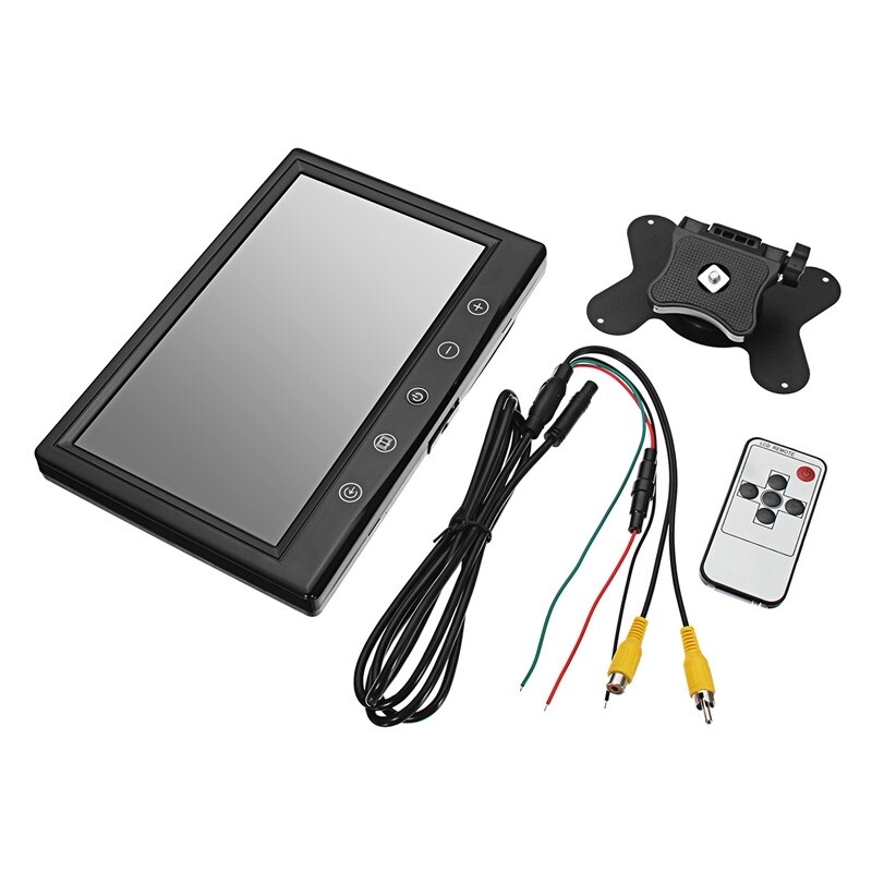 Car Multimedia Players - Car Monitor for Rear View Camera Auto Parking Backup Reverse Monitor - Electronics