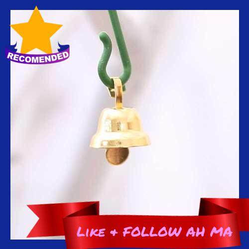 Best Selling 20Pcs / Set 11mm Copper Gold Plated Bells DIY Handmade Jewelry Accessories Home Party Wedding Decoration Christmas Tree Ornaments (Alh2270274)