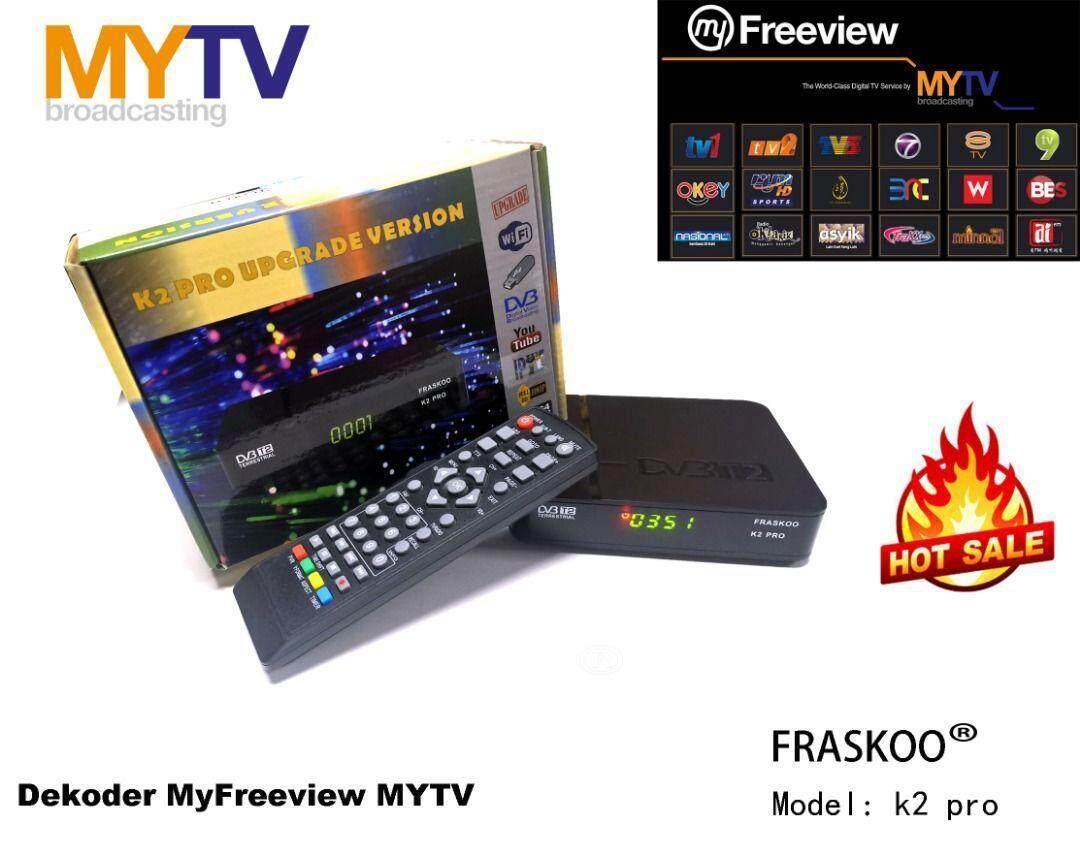 MYTV Myfreeview Mondax Pro STB Digital Decoder T2 free HDMI