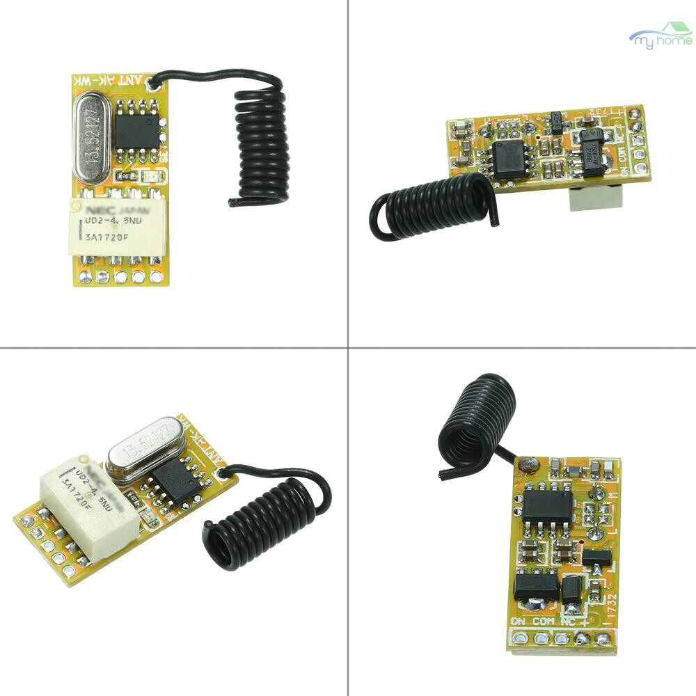 DIY Tools - 433Mhz DC 3.7V 4.5V 5V 6V 7.4V 9V 12V Universal Receiver Module RF Remote Control Switch Relay 1CH - Home Improvement