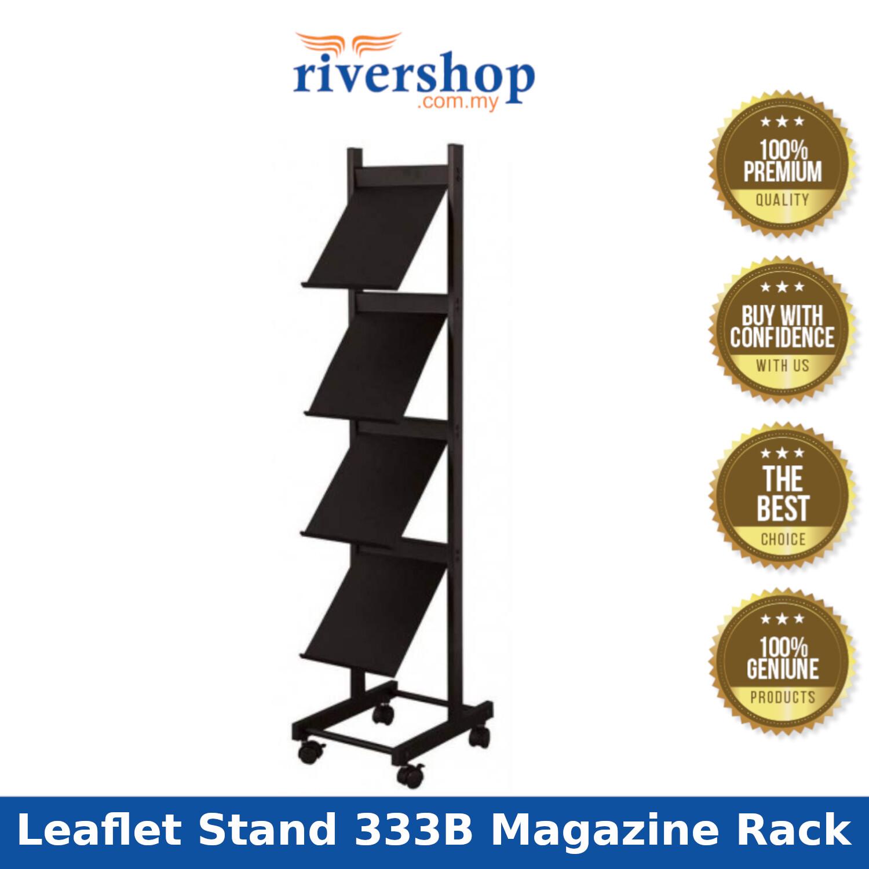 Newspaper & Magazine Rack LT333B Leaflet Stand 333B