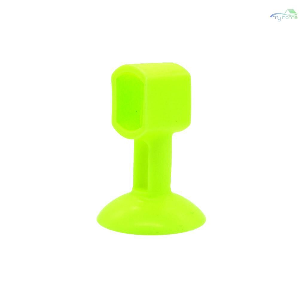Lighting - Self Adhesive Wall Protector Door Handle Crash Pad Bumper Guard Rubber Stopper White&Circular - WHITE&CIRCULAR HOLE / WHITE&SQUARE HOLE / GREEN&CIRCULAR HOLE / GREEN&SQUARE HOLE / PINK&SQUARE HOLE / ORANGE&CIRCULAR HOLE / ORANGE&SQUARE HOL