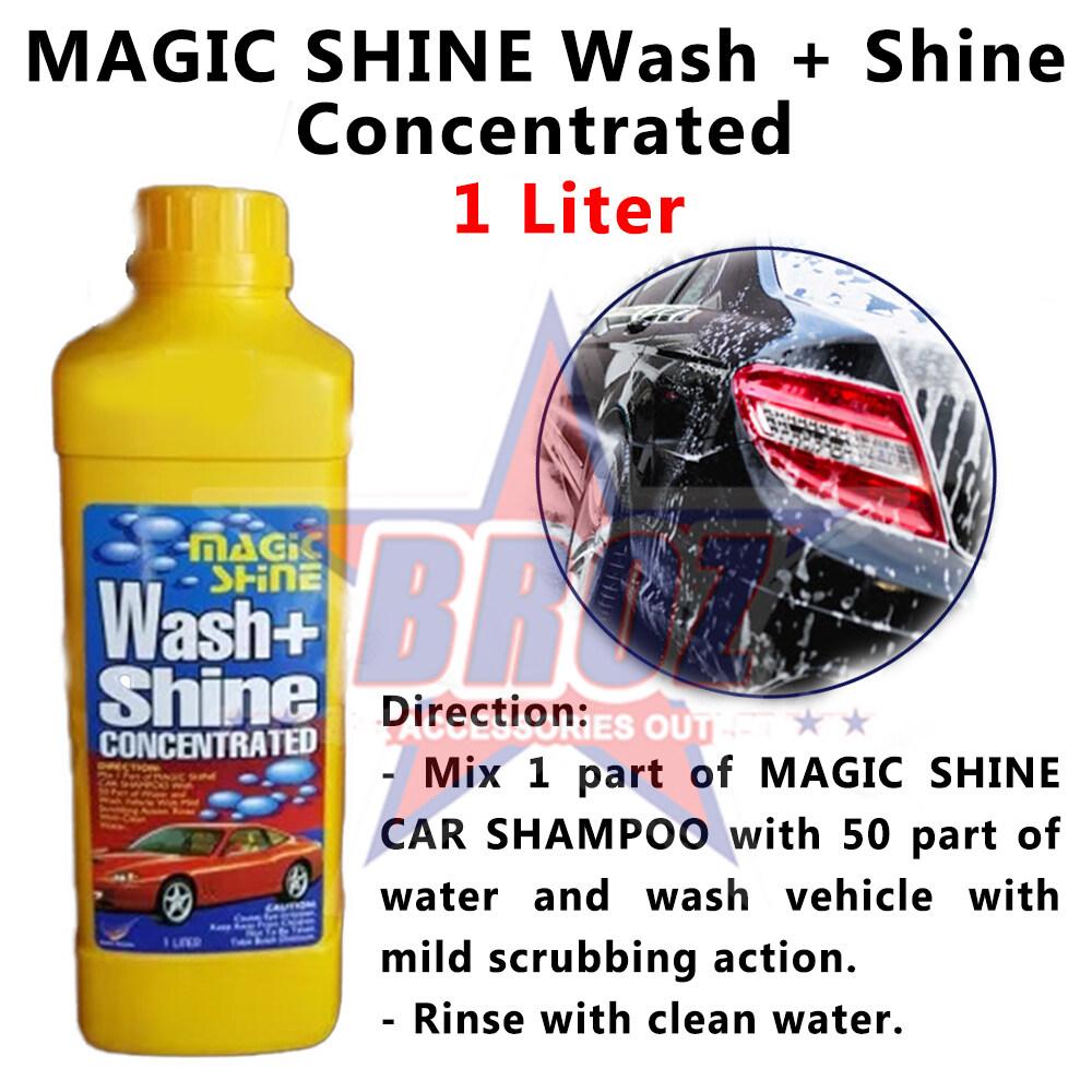 Shine 99 Wash & Shine Car Shampoo Cleaner 1 Litre (TS)