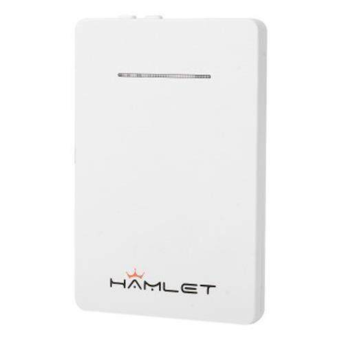 HAMLET IDUALSIM POWER SINGLE SIM CARD ADAPTER POWER SUPPLY BLUETOOTH 4.0 CONNECTION FOR IPHONE (WHITE)