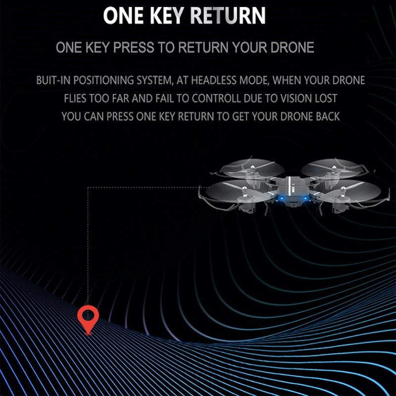 8807W 2.4Ghz 0.3MP 2MP Camera Wifi FPV Foldable Drone 6-Axis Gyro Altitude Hold Headless Mode - 0.3MP / 2MP