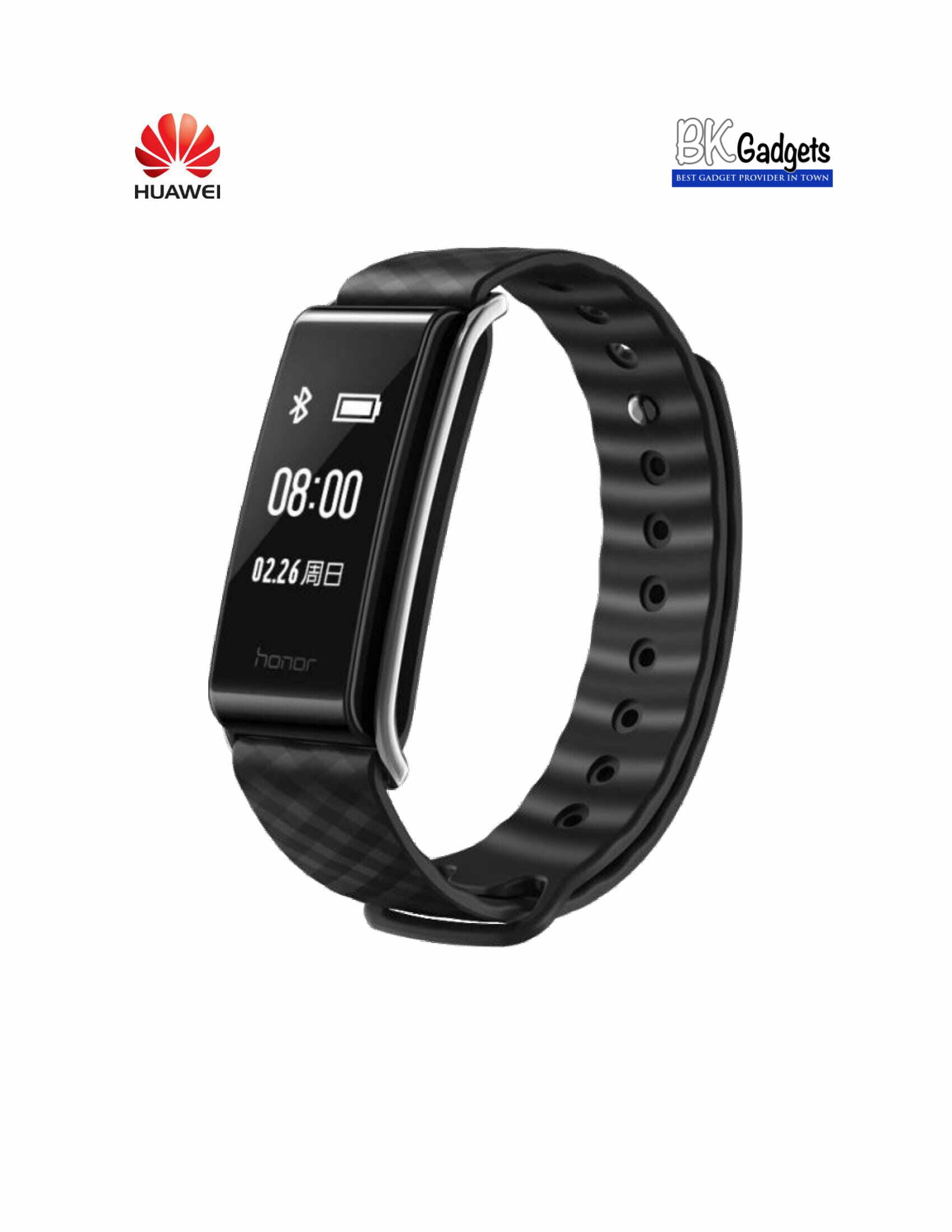 HUAWEI BAND A2 Smart Wristband Wearable Fitness Tracker [ Black ]