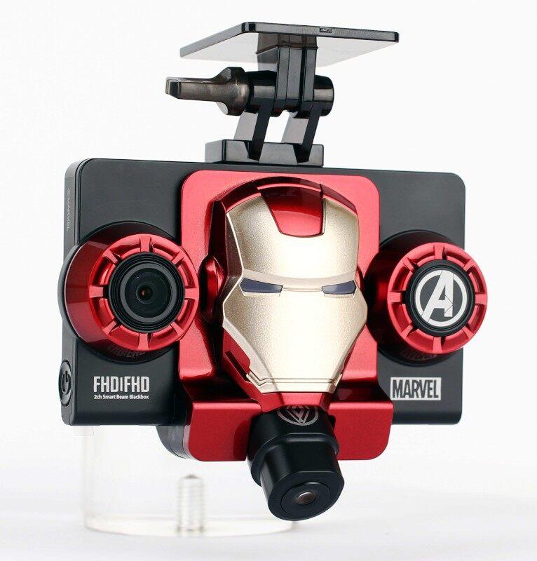 Dash Cam GNET Ironman Blackbox 2CH FHD/FHD (1920 x 1080P) + Micro SD Card