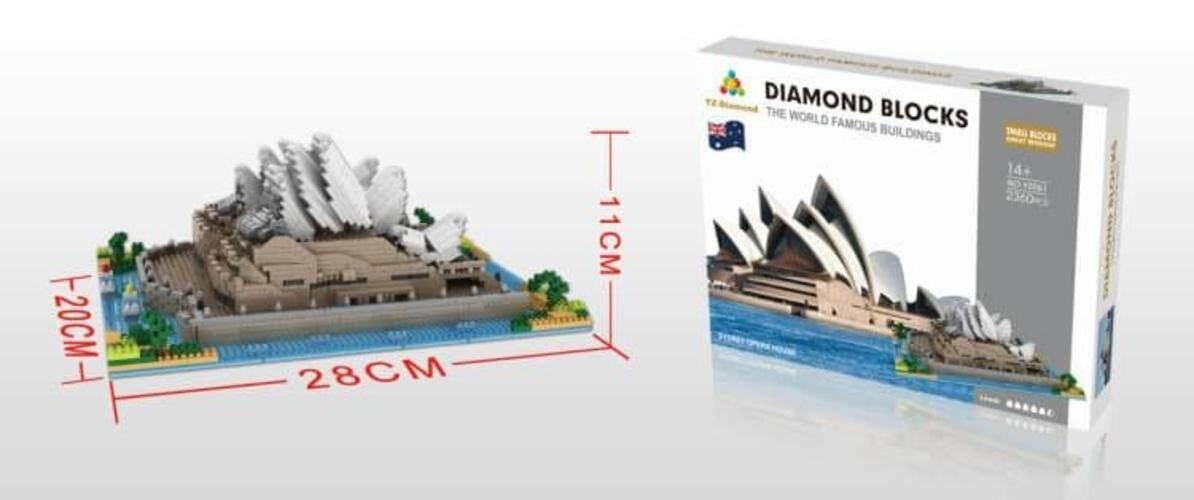 Sydney Opera House Buildingblock Toys for boys