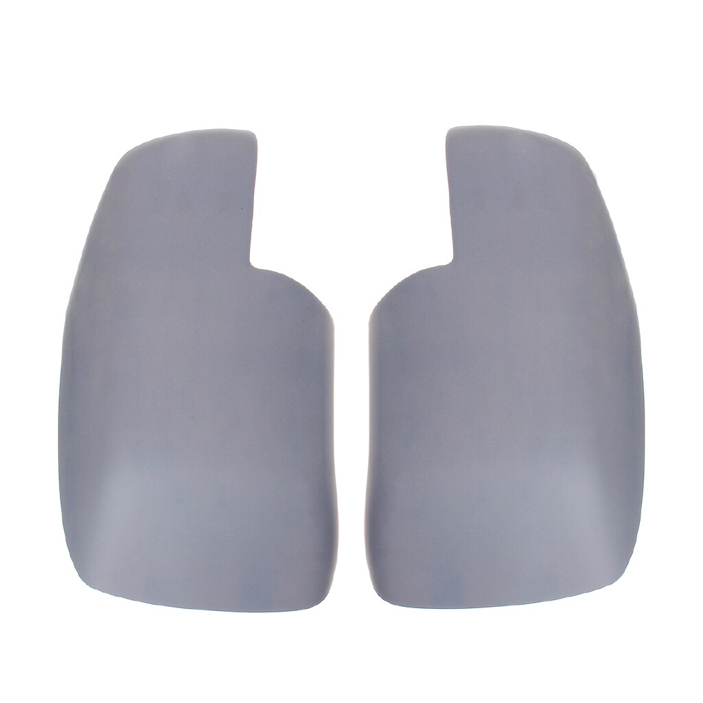 Car Accessories - Pair Primer Wing Side Mirror Covers For Land Rover Discovery 3 Freelander 2 - Automotive