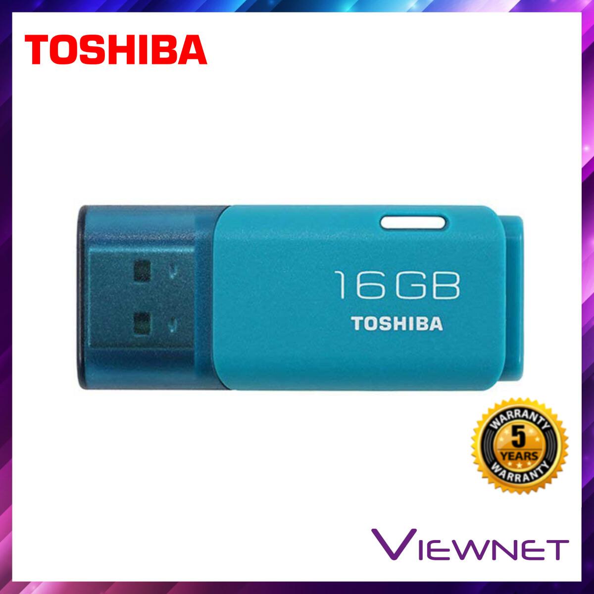 Toshiba Hayabusa Flash Drive 16GB/32GB USB2.0 (White/Blue)
