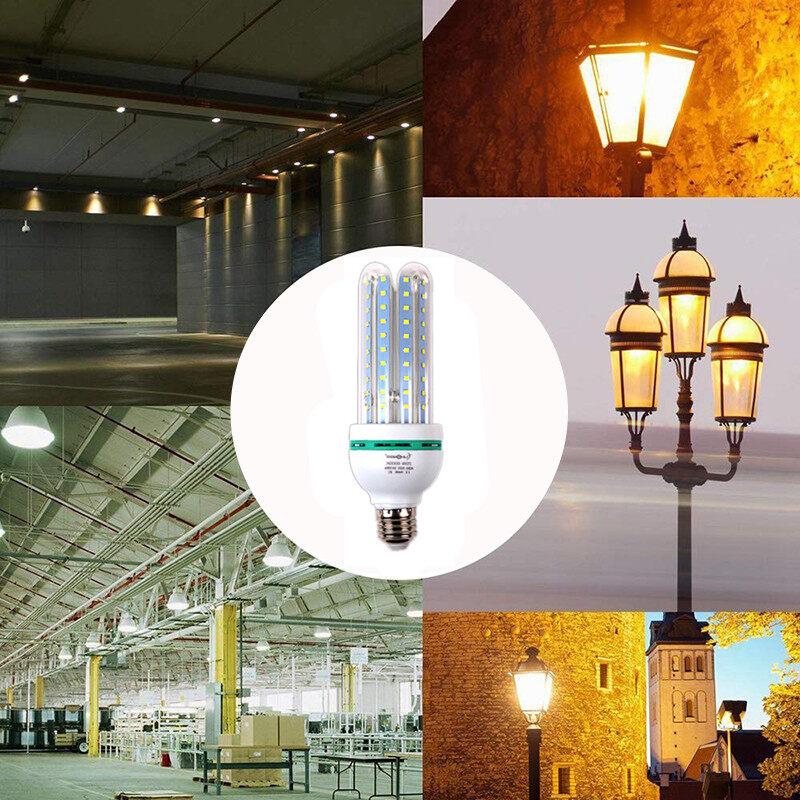 LED U Type Warm Light Corn Bulb 85-265V E27