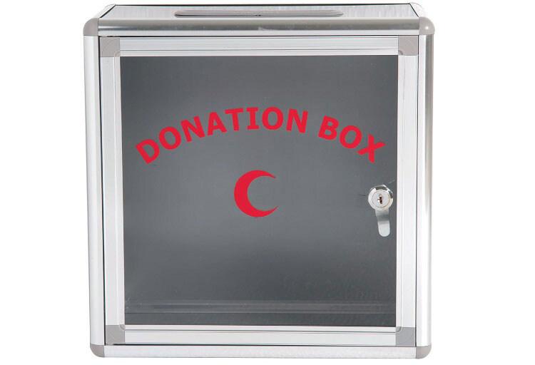 [High Quality] Writebest Donation Box WB625 - 32H x 32W x 16D cm