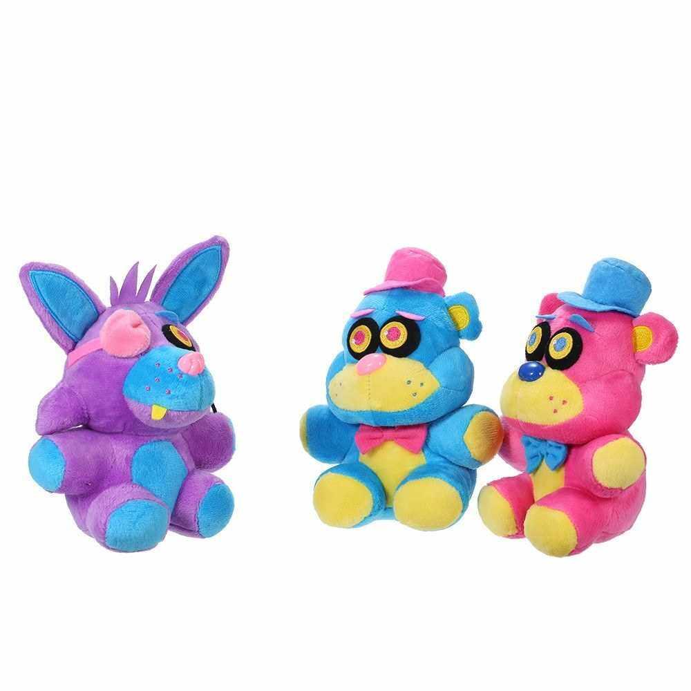 People's Choice Plush Toy Popular Game Cute Fox Bear Soft Stuffed Vivid Animal Doll Toys Kids Birthday Gift (1)