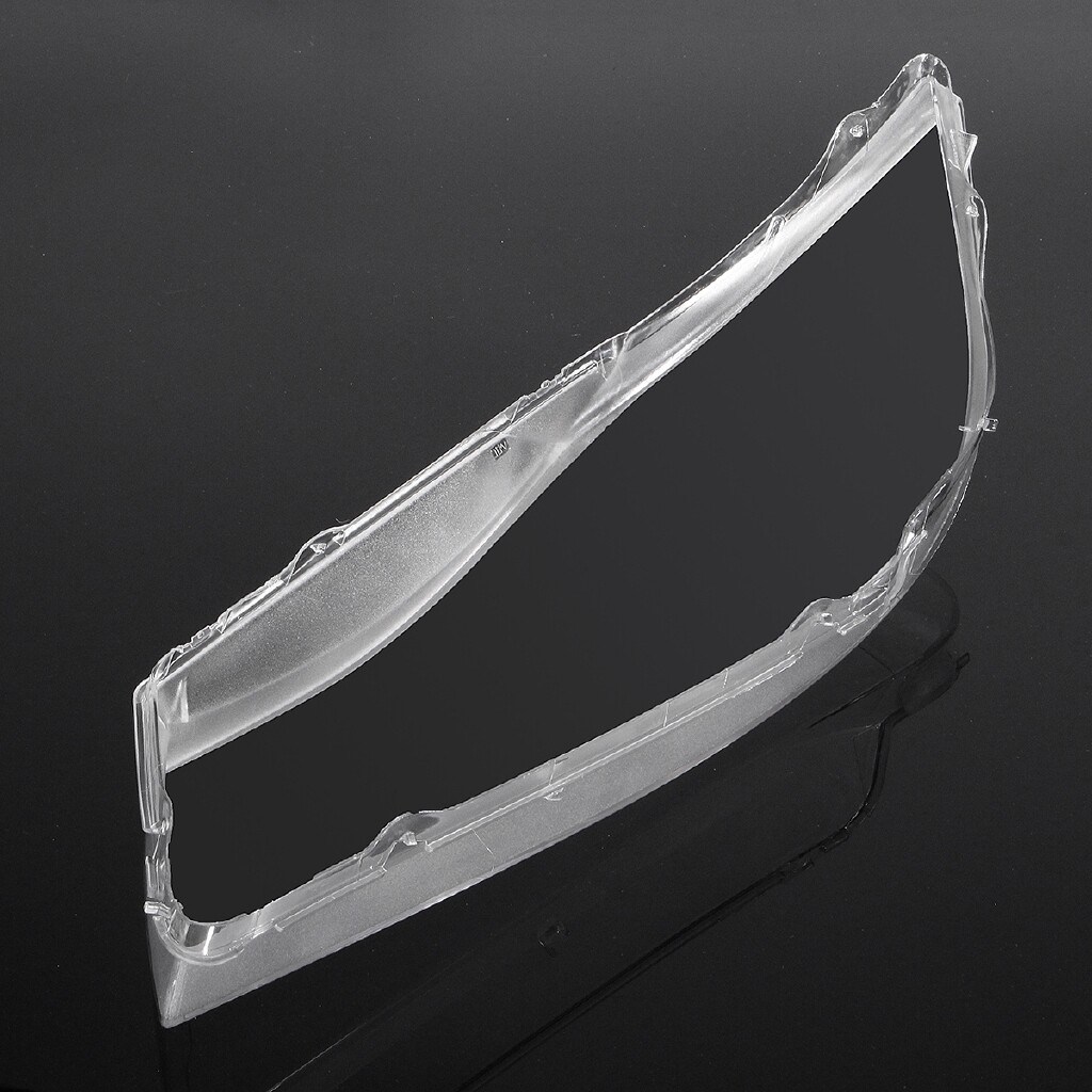 Car Lights - Car Front Headlight Covers Headlamp Clear Lens ABS Plastic For BMW E90 E91 - Replacement Parts