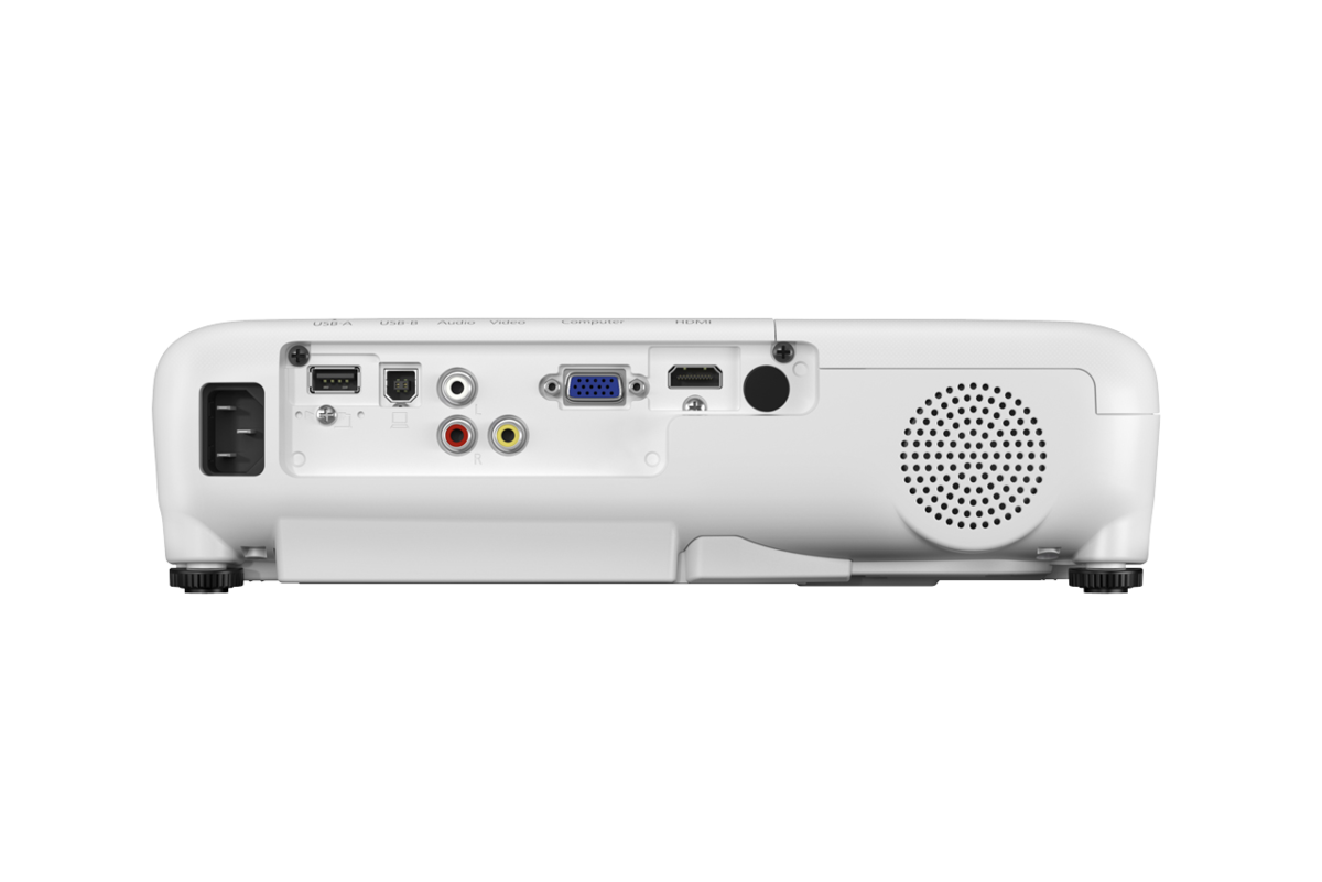 Epson Projector EB-W51 with WXGA Resolution (1200 x 800 ), 4000 Lumens, 12,000 Hours Lamp Life in Eco Mode