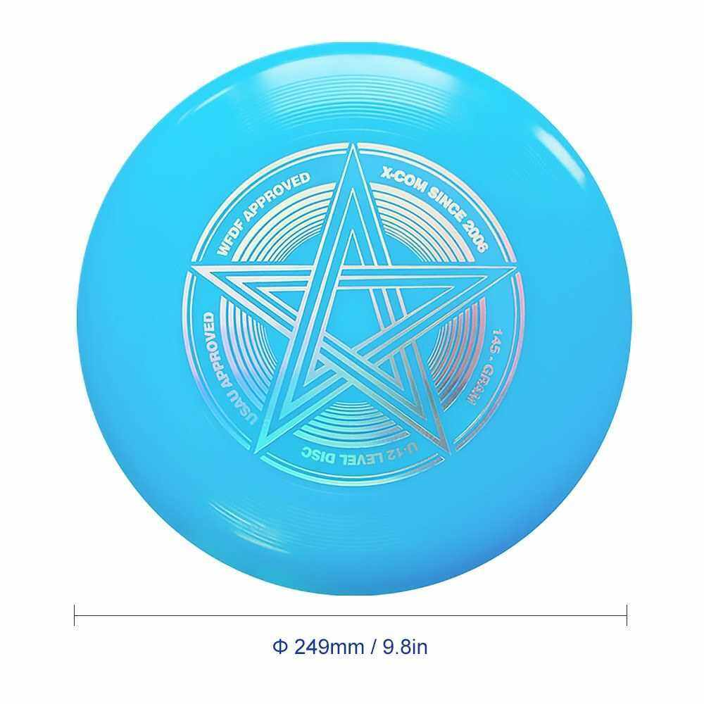 9.8 Inch 145g Plastic Flying Discs Outdoor Play Toy Sport Disc for Juniors (Blue)