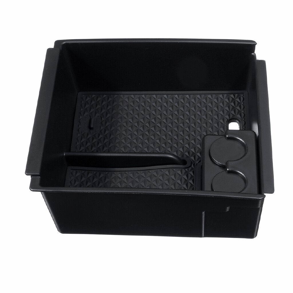Engine Parts - Armrest Storage Holder Central Console Tray Box For Isuzu D-Max MU-X 13- - Car Replacement