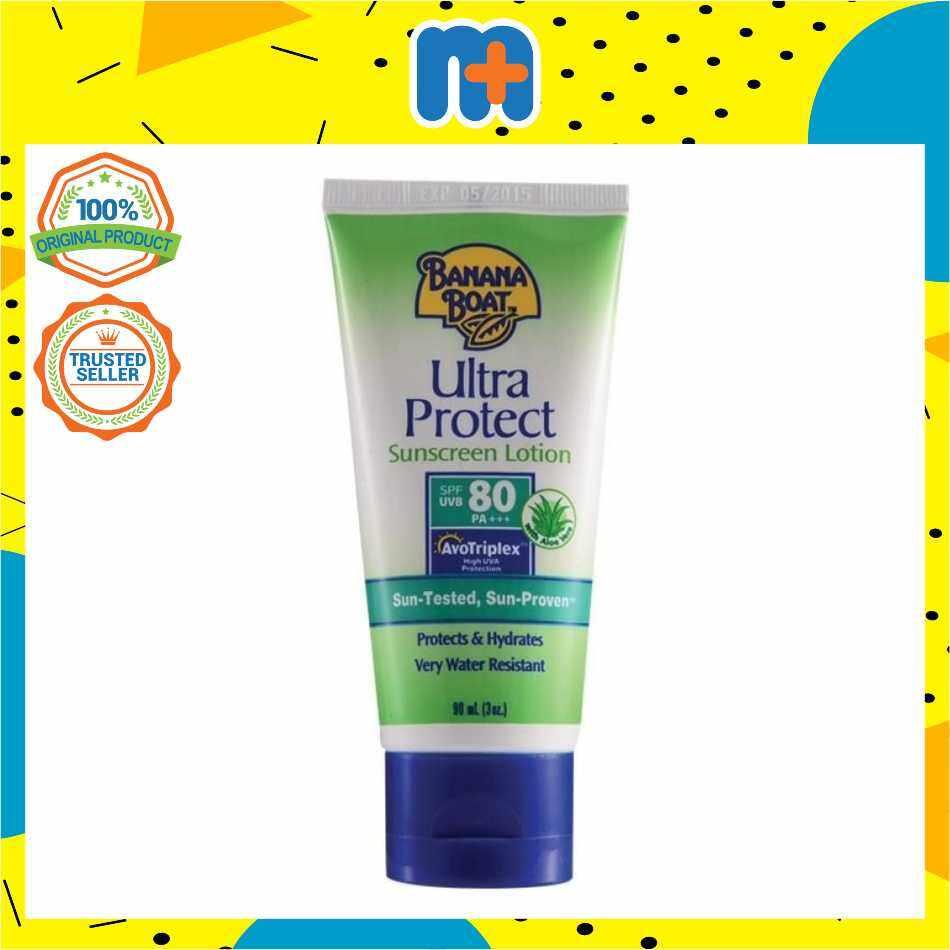 [MPLUS] BANANA BOAT ULTRA PROTECT SPF80 90ML