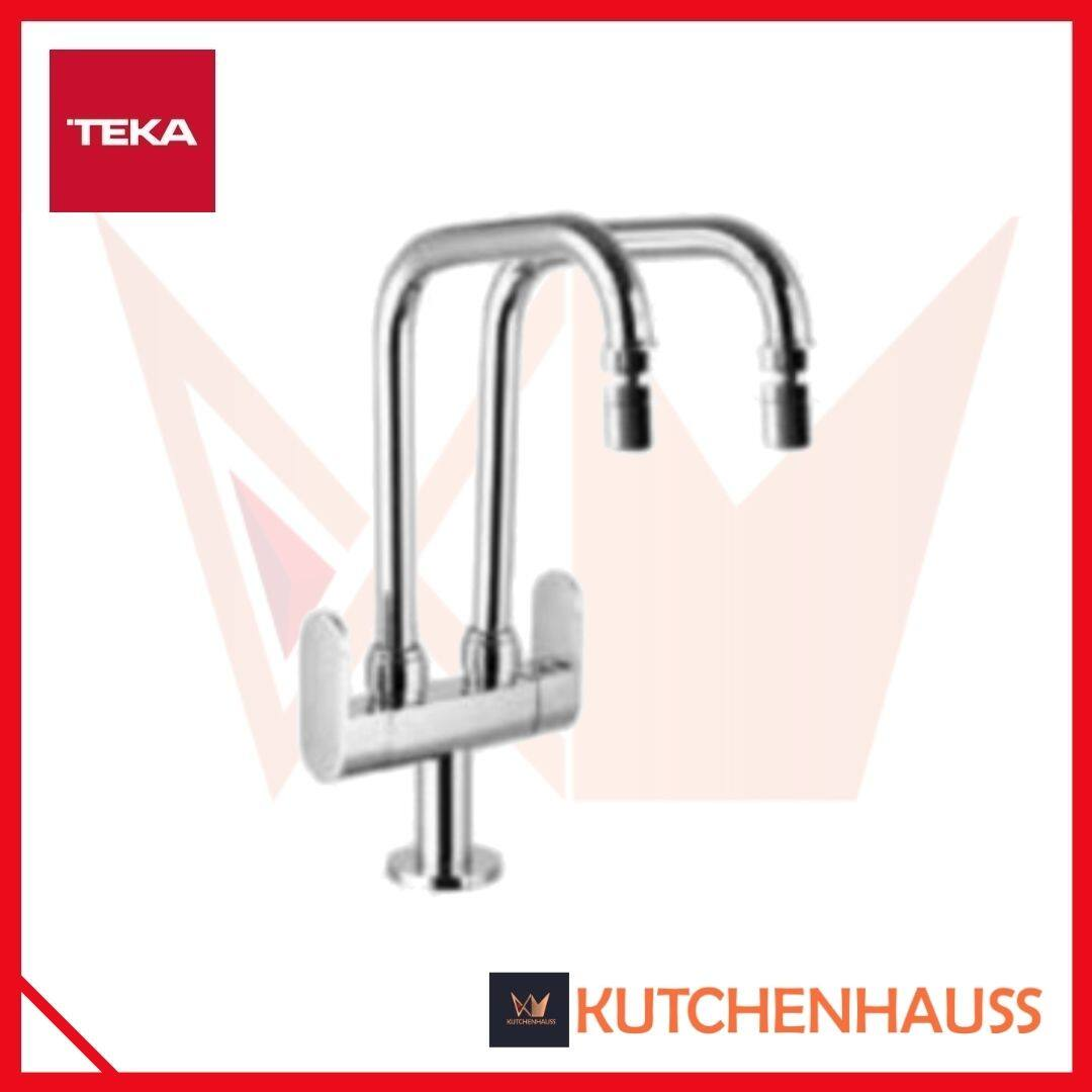 Teka Aqua Double Spout Kitchen Tap (Chrome)