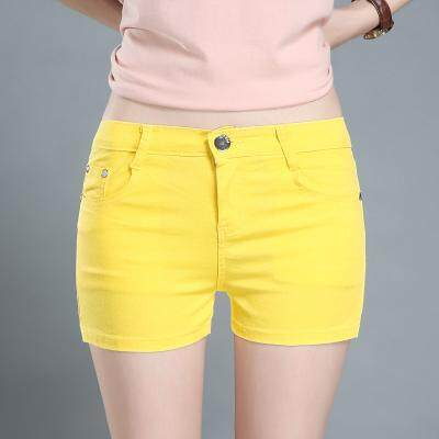 (PreOrder14 Days  JYS Fashion Korean Style Women Jeans Pant Collection-5216095col521-6095--Yellow -25