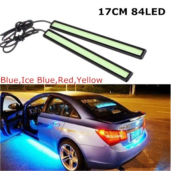 USB Light - 6W COB Bulb Car LED Daytime Running Light DRL Fog Driving Lamp Ice blue - RED / BLUE / COLD BLUE / YELLOW