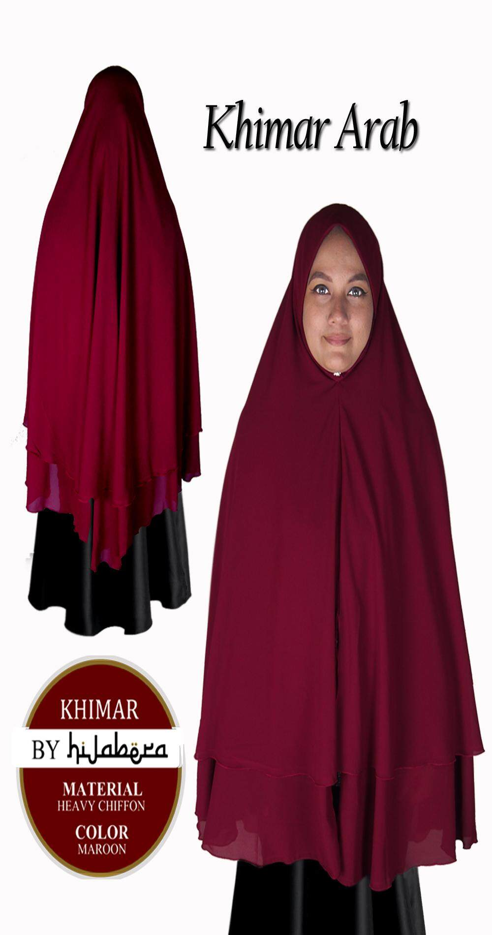 Muslimah Khimar Hijab Latest Fashion - Ababil