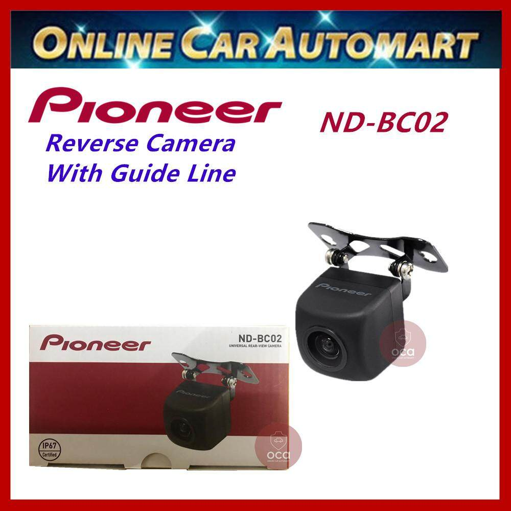 PIONEER Universal Rear View Backup Reverse Camera ND-BC02