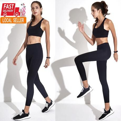 Women's Yoga Sports Running Pants Workout Leggings