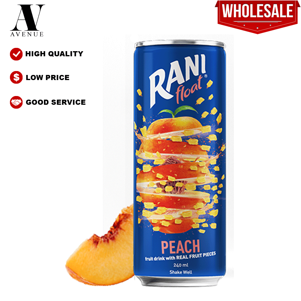 Rani Float Peach Fruit Drink 240ml