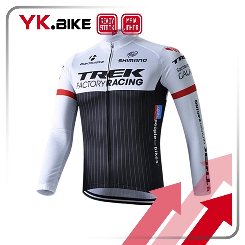 YKBIKE [LOCAL READY STOCK] Cycling Jersey Long Sleeve Bike Team Clothing Long Cycling Pant Gel Pad Bike Bicycle Clothing Quick Dry APL58