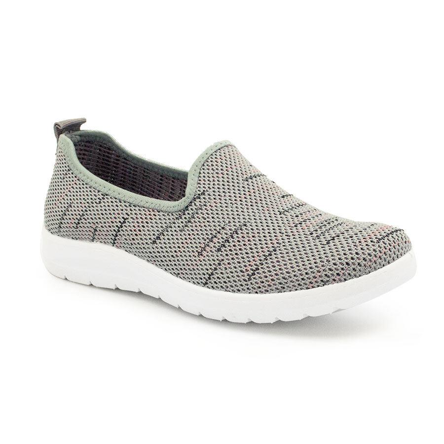 XES (Basic) Ladies BSLCBT03 Grey/Navy Sneakerz Freaks