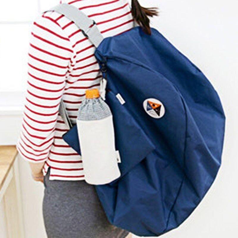 Korean Style Women Multi Folding Shoulder Bag / Backpack / Travel Bag