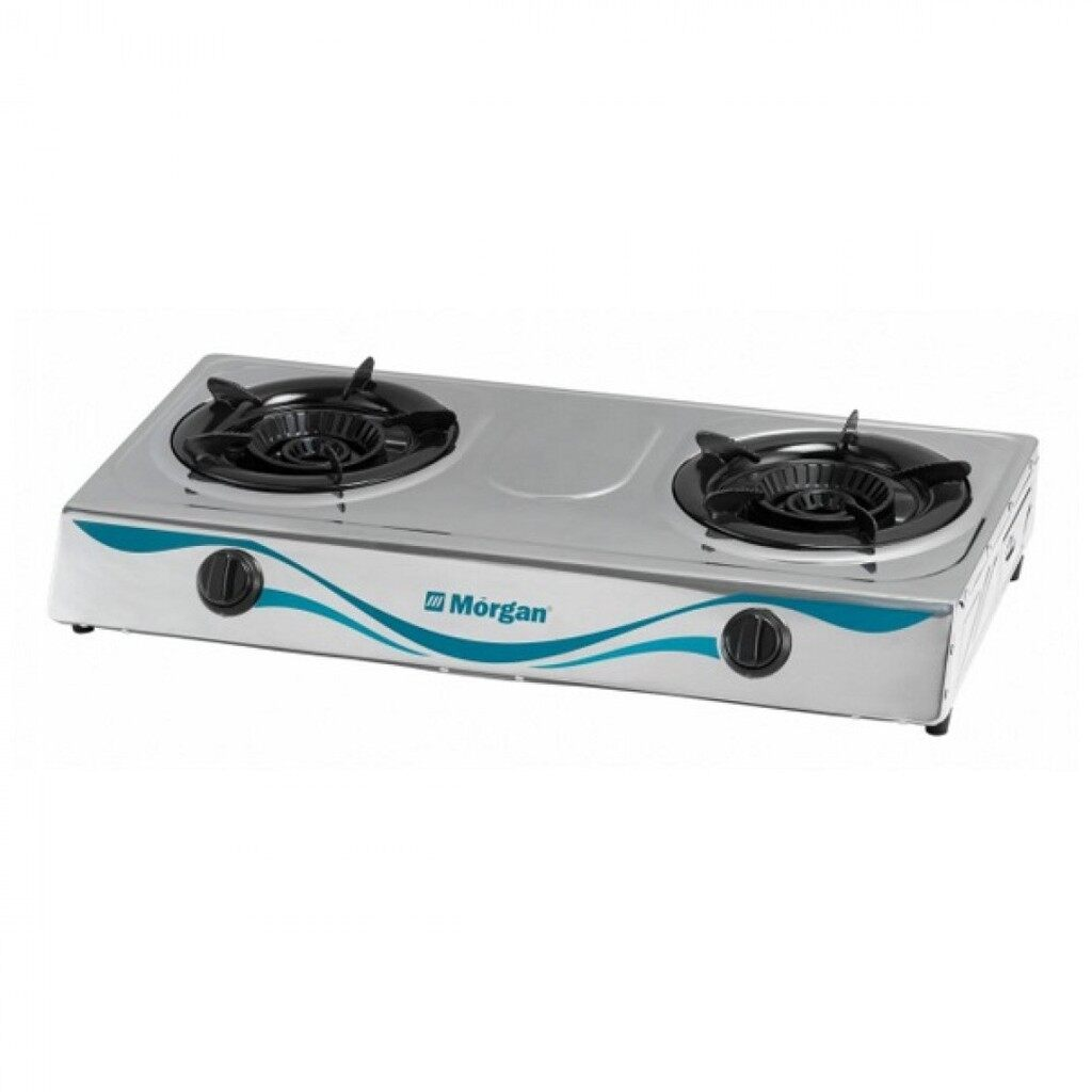 Morgan 2 Burner Gas Stove Stainless Steel Dapur Gas MGS-7212S