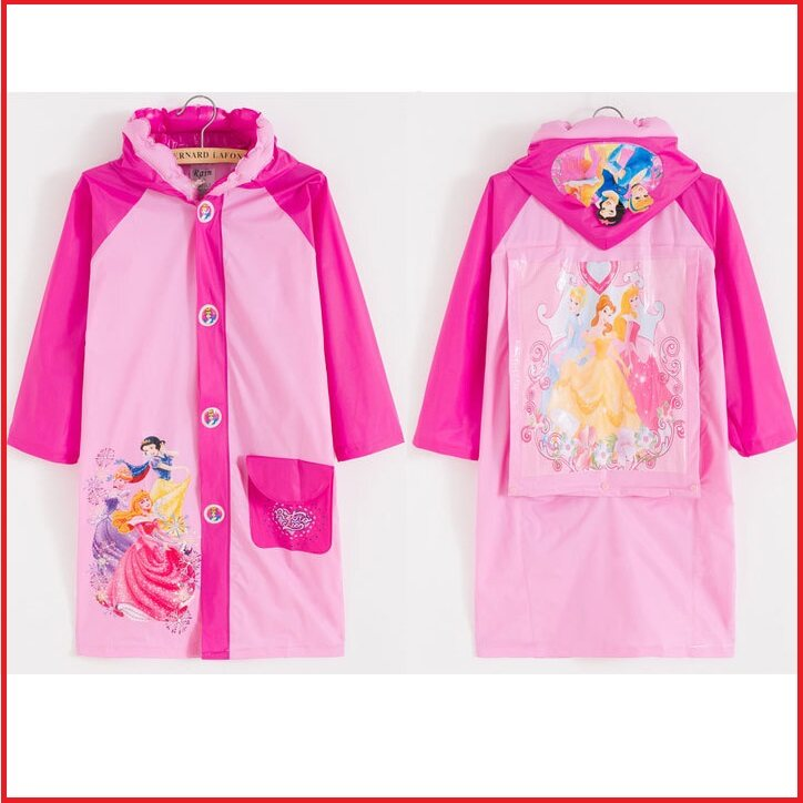 (Ready Stock in Selangor) Kids Raincoat Cartoon8