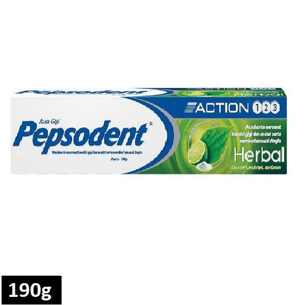 Pepsodent Toothpaste Action 190g (Green)