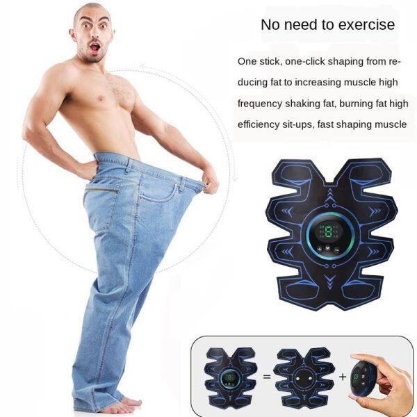 Dụng cụ thể dục cơ bụng lười biếng của đàn ông dụng cụ thể dục cho phụ nữ tập luyện cơ bắp đang thả mỡ vùng bụng, trơn tru cơ bắp thông minh cao cấp, giảm béo bụng,JUYT