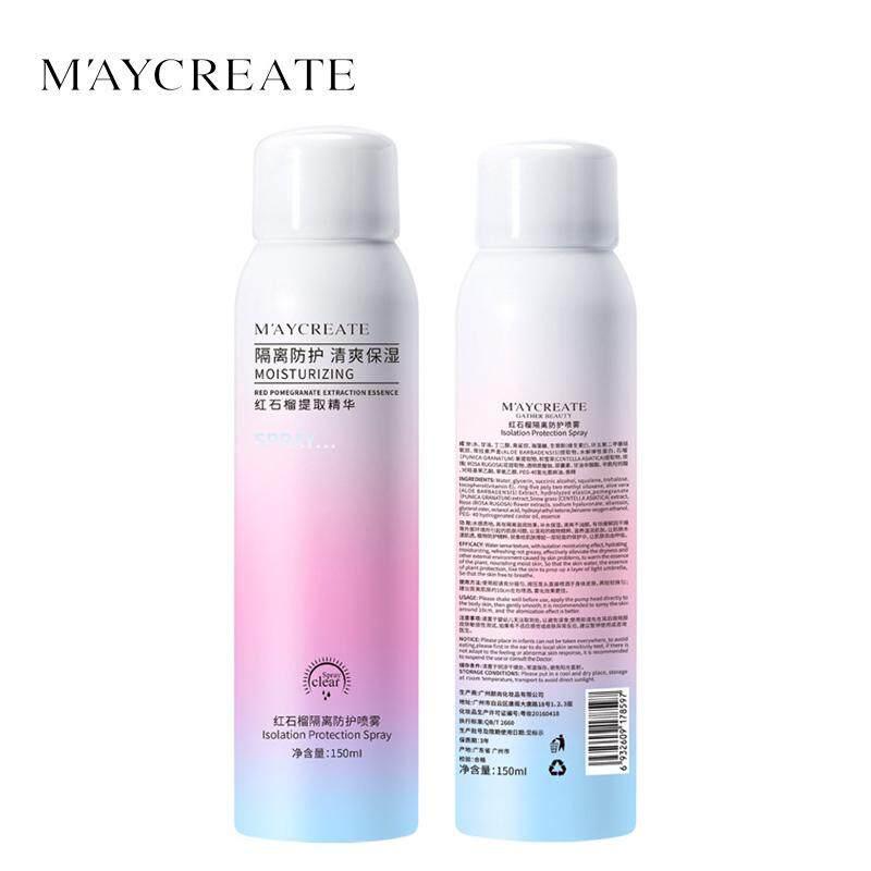 MAYCREATE Whitening Sunscreen Spray UV Protection Isolation