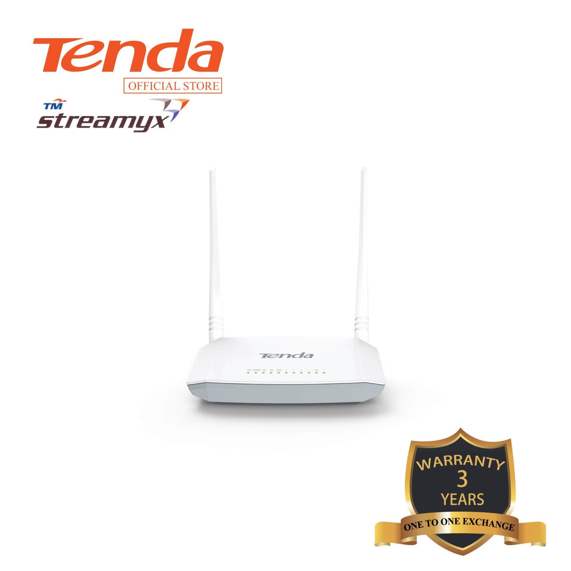 Tenda ADSL Modem Router (300Mbps) D301 V2.0(support streamyx , unifi lite)