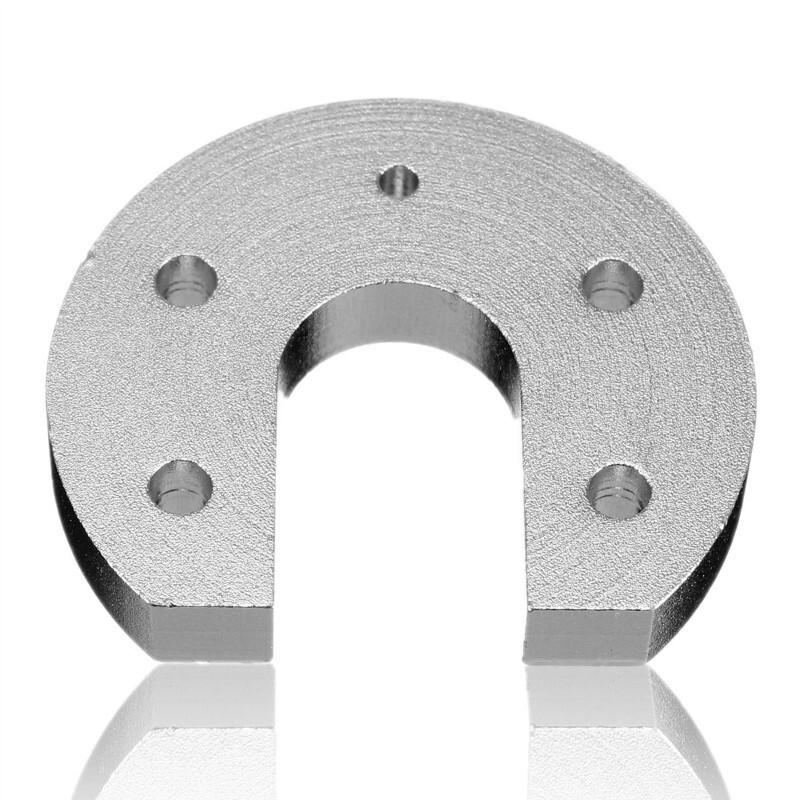 DIY Tools - Reprap Kossel For E3D V6End Aluminum Alloy Groove Mount CNC 3 D Printer Parts CNC Block Heat - Home Improvement