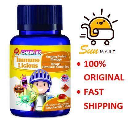 Chewies Immunolicious Mango Flavoured Gummies 60s (120g)