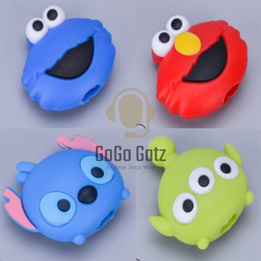 {Ship Out Within 24 Hours} Cable Cover *Cartoon - Iphone, Huawei, Samsung, Oppo, Vivo, Xiaomi
