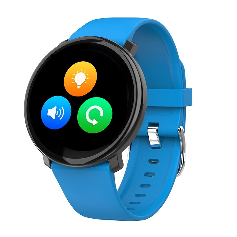 Smart Watch - M31 HR Oxy Monitor 1.3inch IPS Full Touch Screen Weather Push Music Control Brightness - RED / BLACK / BLUE
